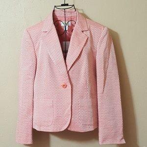 TALBOTS Petites Pink blazer jacket